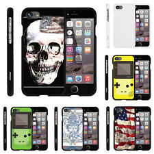 "For Apple iPhone 7 (4.7"") Case Hard Snap On 2 Piece Slim Shell USA Skull"