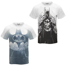 DC Comics Batman Official Gift Mens Sublimation T-Shirt White