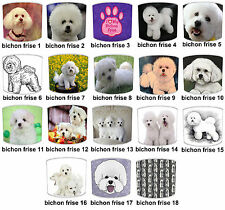 Bichon Frise Dog Designs Lampshades Ideal To Match Bichon Frise Cushions & Beds