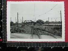 1950's PHOTO ROCHESTER & EASTERN RAILROAD TROLLEY CAR NEAR DRIVING PARK STATION