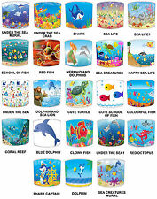Kids Lampshades Ideal To Match Under The Sea Duvets & Under The Sea Wallpaper