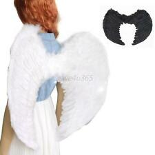 Adult Kids Angel Wings Feather Fairy Night Party Fancy Dress Costume Cosplay