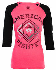 American Fighter AFFLICTION Women T-Shirt MONTCLAIR ARTISAN Biker UFC Sinful $40