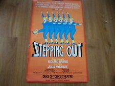 Vintage theatre poster DUKE OF YORK'S  STEPPING OUT