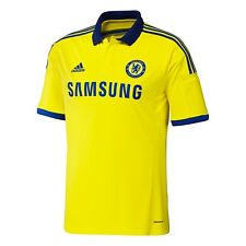 Adidas Chelsea FC Men's Away Soccer Jersey Yellow  L Large XL