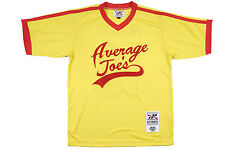 Dodgeball Average Joes Patches Jersey Headgear Yellow Vince Vaughn