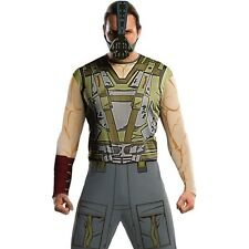 Adult Bane Villain Costume Batman The Dark Knight Halloween Party Outfit & Mask