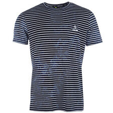 Mens Criminal Damage Cristiano T-Shirt In Navy From Get The Label