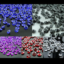 2000Pcs 4.5mm Crystal Acrylic Wedding Party Decoration Scatter Table Confetti