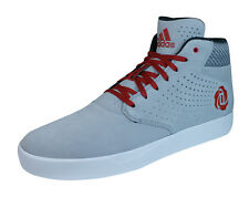 adidas D Rose Lakeshore Mid Mens Basketball Trainers / Shoes - grey