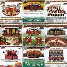 Play Like Pros! John Patrick Casino Gaming Instructional DVDs for TV PC MAC New