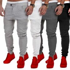 New Mens Skinny Casual Jogging Bottoms Joggers Tracksuit Gym Sweatpants Trousers