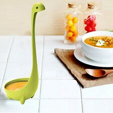 Cute Lovely Nessie Soup Ladle Loch Ness Monster Design Upright Spoon Kitchen Bar