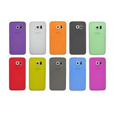 Hard Plastic Cell Phone Protector Fitted Cover Case For Samsung Galaxy S6 Edge