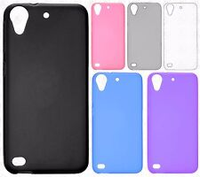 For HTC Desire 530 Frosted TPU CANDY Gel Flexi Skin Case Phone Cover Accessory