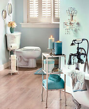 VINTAGE BATHROOM COLLECTION DISTRESSED FINISH BEDROOM TOILET WALL HOME DÉCOR