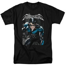 Batman DC Comics Superhero Nightwing A Legacy Black Adult T-Shirt Tee