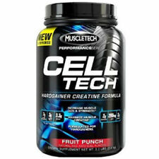 MUSCLETECH CELL TECH PERFORMANCE SERIES HARDGAINER CREATINE 2.7kg / 1.4kg