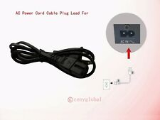 NEW AC Power Cord Cable Plug For Sony CD Radio Cassette Recorder Player Series