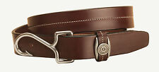 Tory Leather Fish Hook Buckle Leather Belt