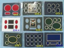 """6""""X8"""" & 8""""X12"""" Mats In Riker Display Case For Civil War Artifacts & Collectibles"""