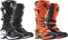 FOX RACING COMP 5 KIDS YOUTH CHILDRENS JUNIOR  BOYS MX MOTOCROSS QUAD BOOTS