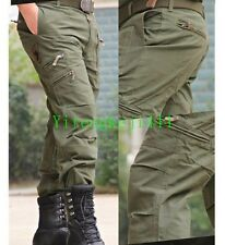 Men's Tactical Pants hiking Military Outdoors City casual Sport Cargo Pant Hot