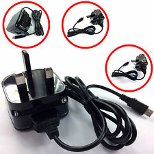 COMPACT CE 1A 1000MaH 3 PIN UK MAINS WALL CHARGER FOR 2015-2016 NEW PHONES.