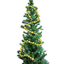 A Strand of Glitter Christmas Balls Baubles Xmas Tree Hanging New