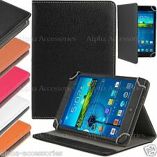 "Universal PU Leather Folio Stand Case Cover For 7"" 7 Inch Tab Android Tablet PC"