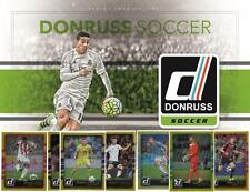 2016 Donruss Soccer Trading Cards - Gold Parallels - Card #'s 1-200