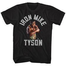 T-Shirts Sizes S-3XL New Authentic Mike Tyson Gimme the Gold Mens T-Shirt
