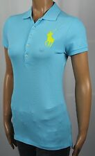 Ralph Lauren Blue Yellow Big Pony Polo Shirt NWT