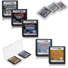 Pokemon Game cartridge HeartGold SoulSilver Version For DS/NDS/DSI/3DS