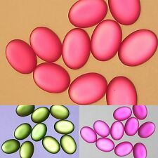 Grape Lucite Lunasoft German Made Cabochon - Glows from Within - 25 x 18 mm