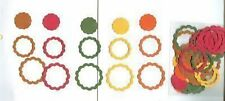 75 SCALLOPED RING & SCALLOPED CIRCLE PUNCHIES - VARIATIONS #1 - 4*