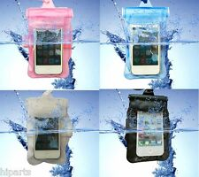Lots Waterproof Underwater Pouch Dry Bag Pack Case Cover For iPhone 5C 5S 5 4S 4