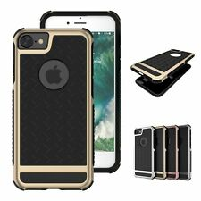 Armor Soft Silicone Hard PC Hybrid Thin Phone Case for iPhone 7 6 6s/6 Plus/5 SE