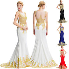 Long Evening Prom Dress Gowns Formal Bridesmaid Party Cocktail Wedding Dresses 8