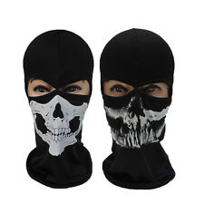 Call of Duty 10 Ghost Skull Face Mask Cosplay Balaclava Skateboard Bike Hood NEW