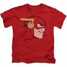 JLA/Cooke Head Short Sleeve Juvenile Graphic T-Shirt in Red