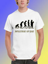 NEW FUNNY DRINKING TSHIRT - Evolution Of Man
