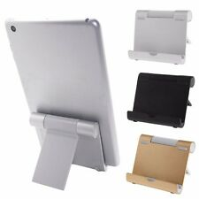 180° Aluminum Foldable Holder Stand Mount Cradle For iPad 2/3/4 iPhone Tablet PC