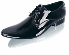 Mens BRAND NEW Navy Patent Contemporary Dress | Formal | Wedding | Evening Shoes