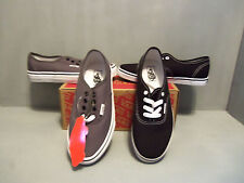 Vans Kids Authentic Lo Pro Black and Gray Sizes!!! Lace up 4000103975