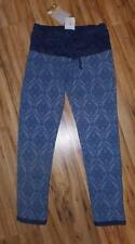 New Girls Kiddo by Katie Blue Knit Printed Boutique Jogger Pants Dressy S 7/8