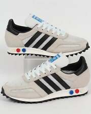 Adidas Originals - Adidas LA Trainer OG in White & Black