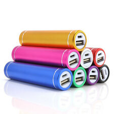 1X 2600mAh Portable External USB Power Bank Box Battery Charger For Mobile Phone