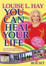 You Can Heal Your Life Louise L Hay Box Set Book & DVD 2004 free Shipping Sealed