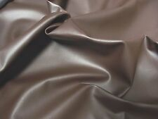 Faux LEATHER Leatherette PVC Vinyl Upholstery Fabric Material - ESPRESSO